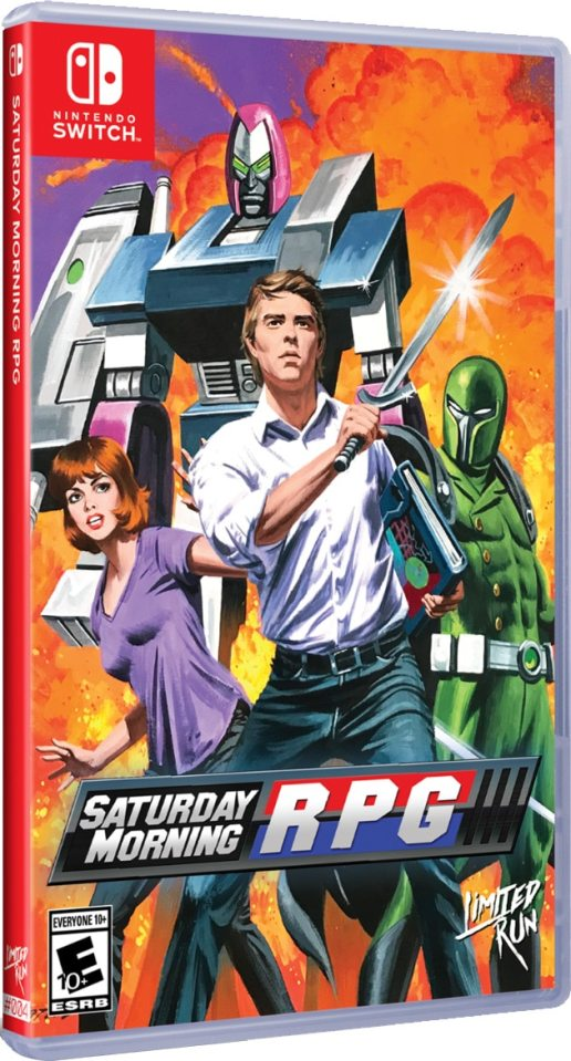 saturday morning rpg limitedrungames.com nintendo switch cover