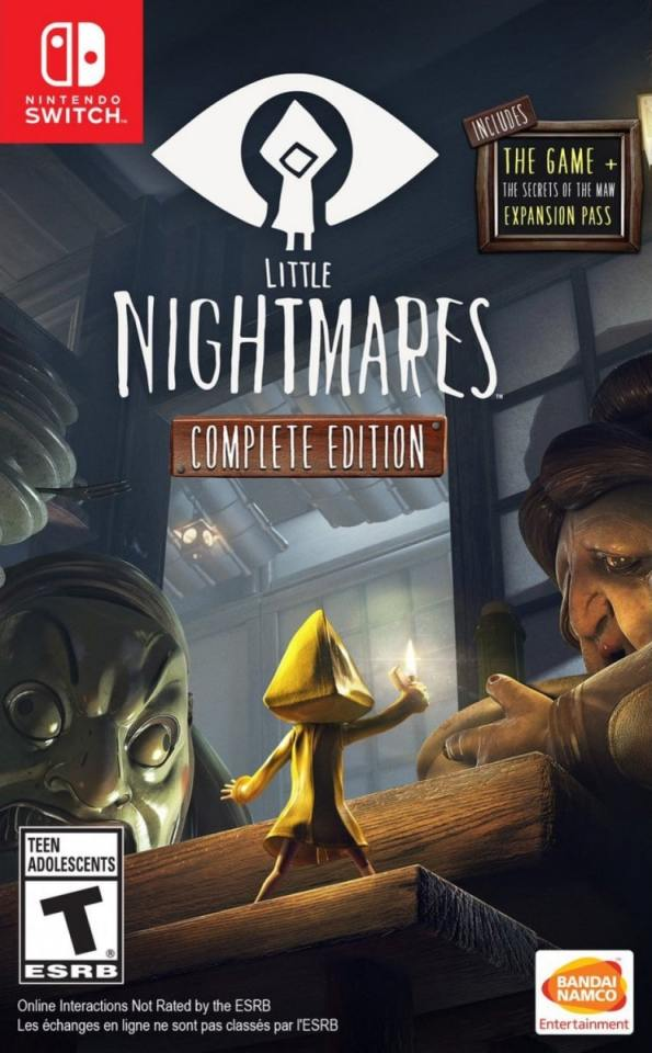 little nightmares complete edition nintendo switch cover