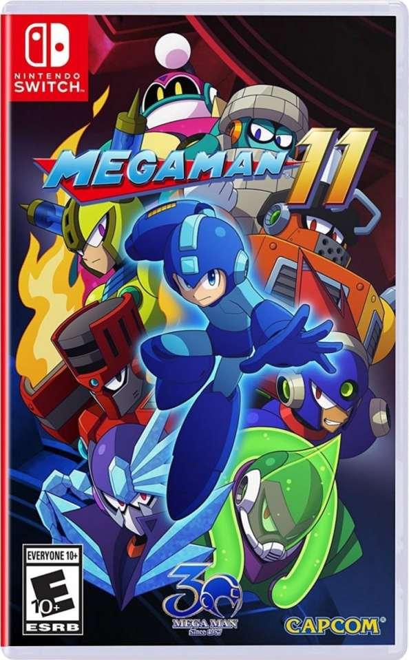 mega man 11 capcom nintendo switch ps4 xbox one cover