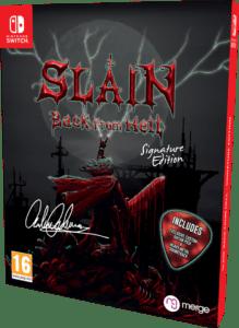 slain back from hell signature edition games limitedgamenews.com nintendo switch cover