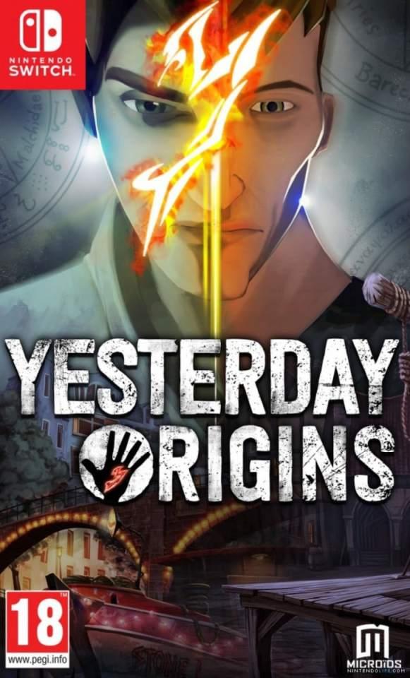 yesterday origins maximum games nintendo switch cover