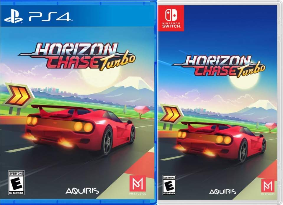 horizon chase turbo pm studios retail ps4 nintendo switch cover limitedgamenews.com