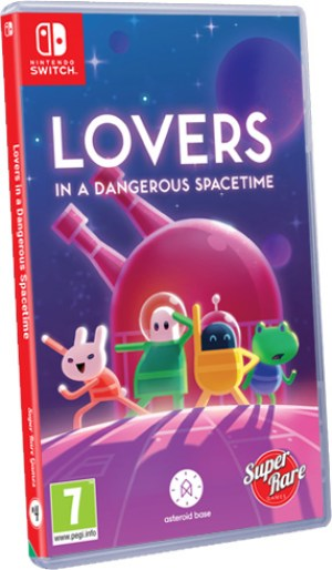Lovers in a dangerous Spacetime Super Rare Games LimitedGameNews.com Nintendo Switch Cover