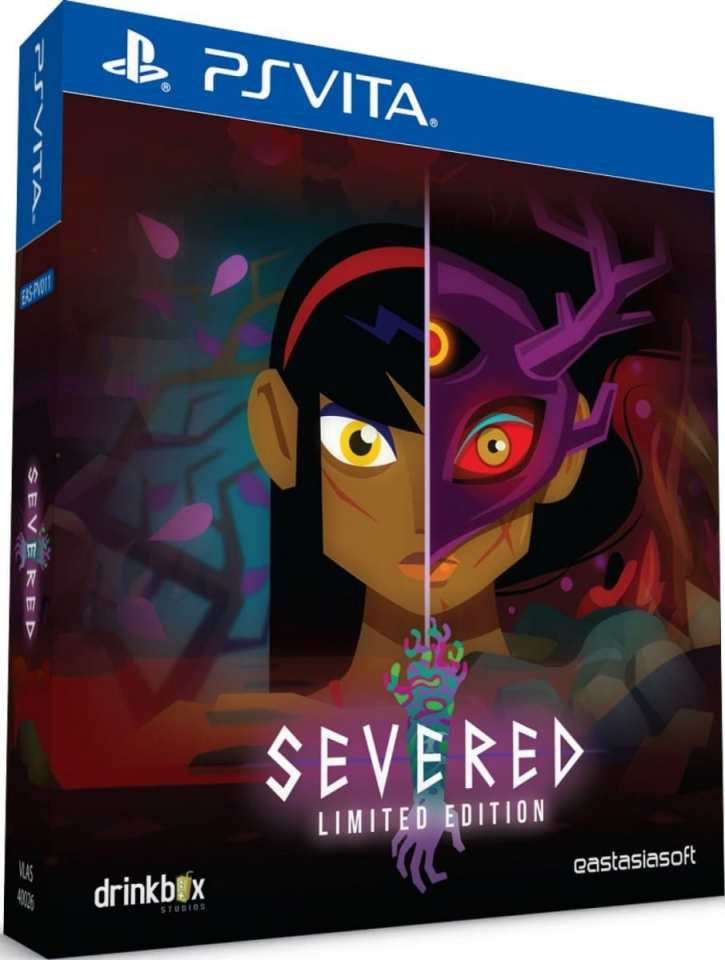 severed limited edition eastasiasoft drinkbox limitedgamenews.com ps vita cover