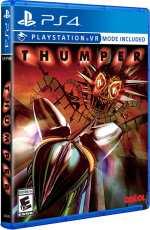 thumper drool limitedrungames limitedgamenews.com playstation 4 psvr cover