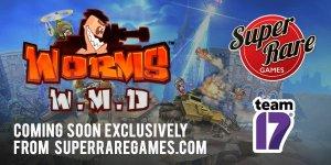worms wmd team 17 super rare games limitedgamenews.com nintendo switch announcement