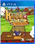 Knight of Pen and Paper Deluxier Edition Strictly Limited-Games PS4 Cover