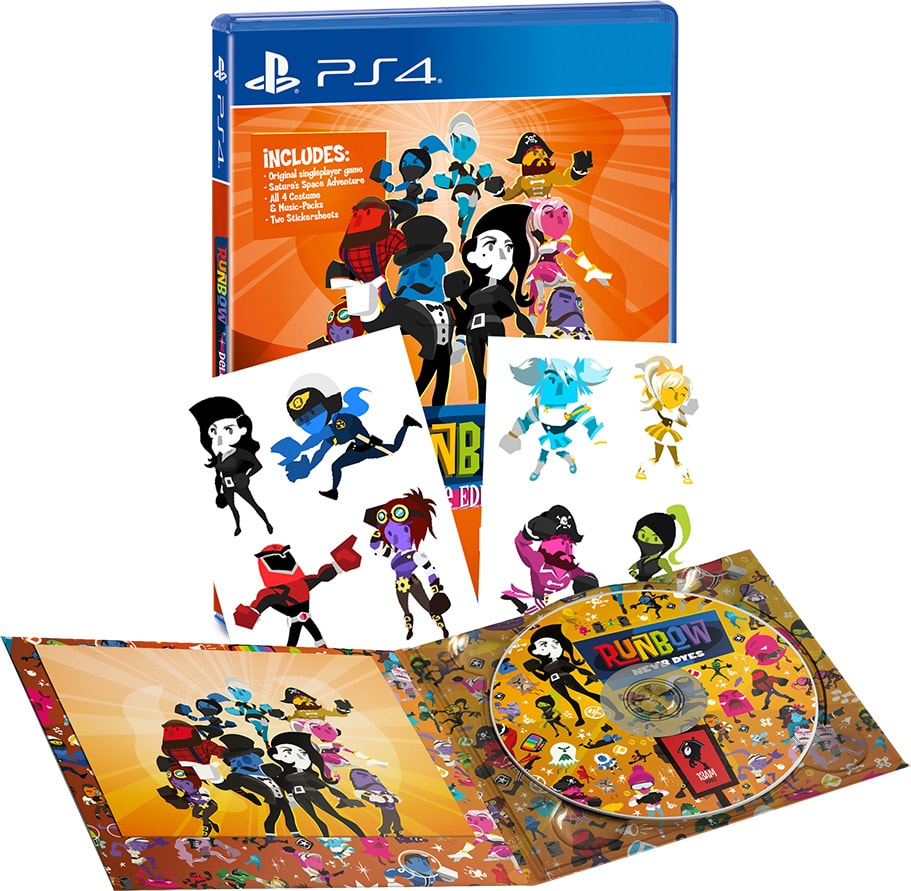 runbow deluxe edition limitedgamenews.com ps4 nintendo switch cover