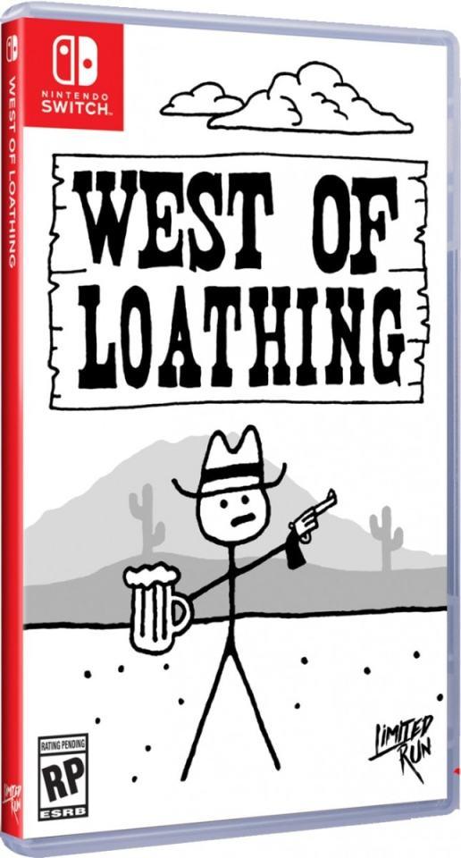 west of loathing limitedrungames.com limitedgamenews.com nintendo switch cover