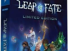 leap of fate limited edition eastasiasoft limitedgamenews.com ps4 cover