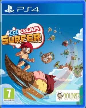 ice cream surfer limitedgamenews.com ps4 cover