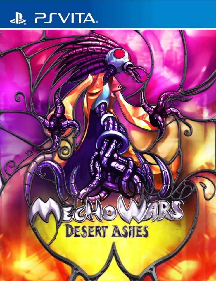 mecho wars desert ashes limitedgamenews.com ps vita cover