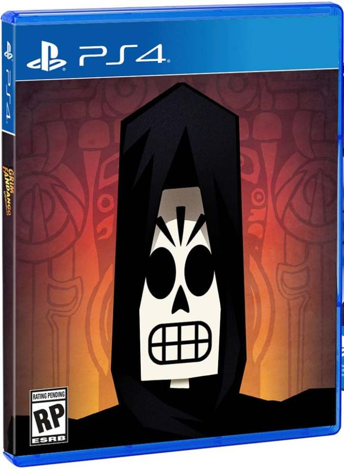 grim fandango remastered ps4 cover limitedgamenews.com