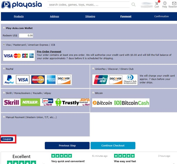 how to use coupons at play-asia 004