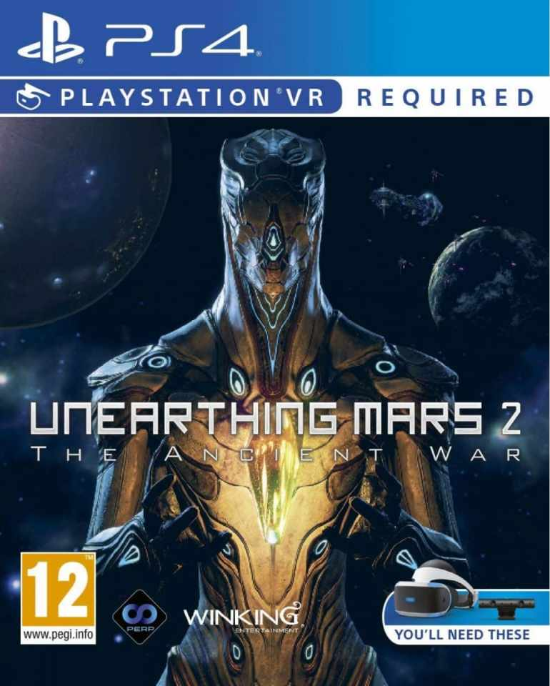 unearthing mars 2 the ancient war psvr cover limitedgamenews.com