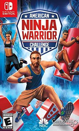 american ninja warrior challenge nintendo switch cover limitedgamenews.com