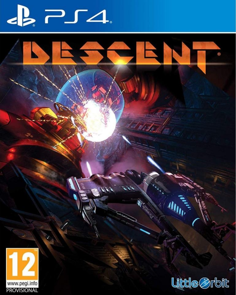 descent ps4 cover limitedgamenews.com