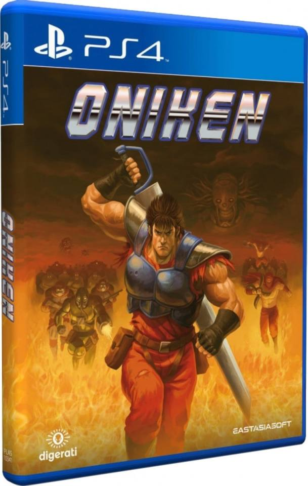 oniken unstoppable edition eastasiasoft ps4 cover limitedgamenews.com