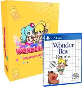 wonder boy returns collectors edition strictly limited games ps4 cover limitedgamenews.com