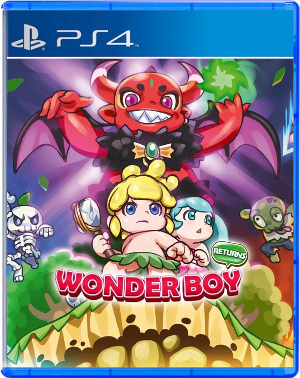 Wonder Boy Returns for PlayStation 4 - Limited Game News
