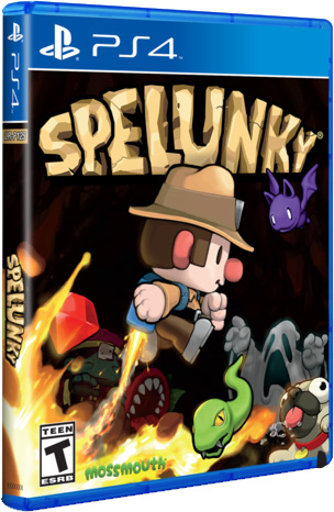 spelunky limited run games ps4 cover limitedgamenews.com