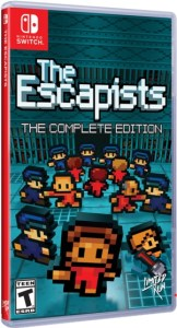 the escapists complete edition limited run games nintendo switch cover limitedgamenews.com