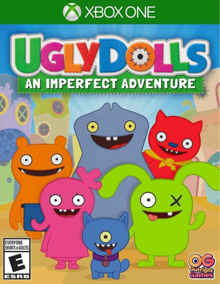 uglydolls an imperfect adventure xbox one cover limitedgamenews.com