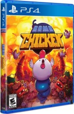 bomb chicken limited run games ps4 cover limitedgamenews.com