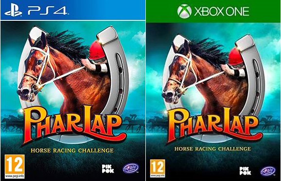 phar lap horse racing challenge retail xbox one ps4 cover limitedgamenews.com