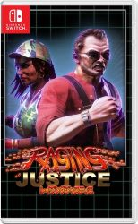raging justice strictly limited games nintendo switch cover limitedgamenews.com