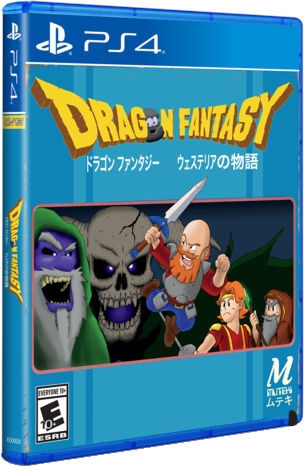 dragon fantasy the volume of westeria limited run games ps4 cover limitedgamenews.com