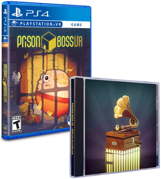 prison boss retail limited run games ps4 psvr cover soundtrack limitedgamenews.com