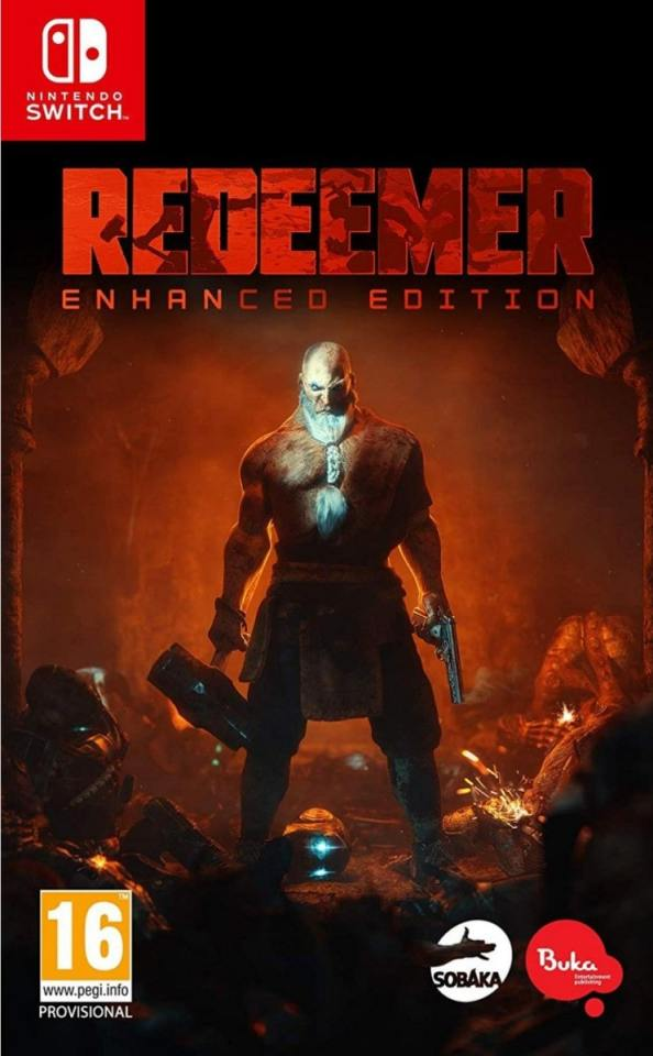redeemer enhanced edition retail nintendo switch cover limitedgamenews.com