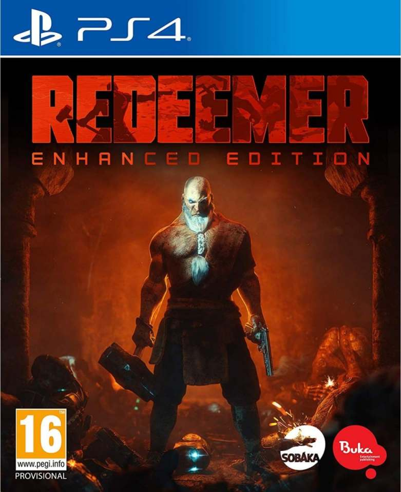 redeemer enhanced edition retail ps4 cover limitedgamenews.com