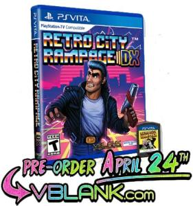retro city rampage dx re-issue vblank entertainment retail ps vita cover limitedgamenews.com