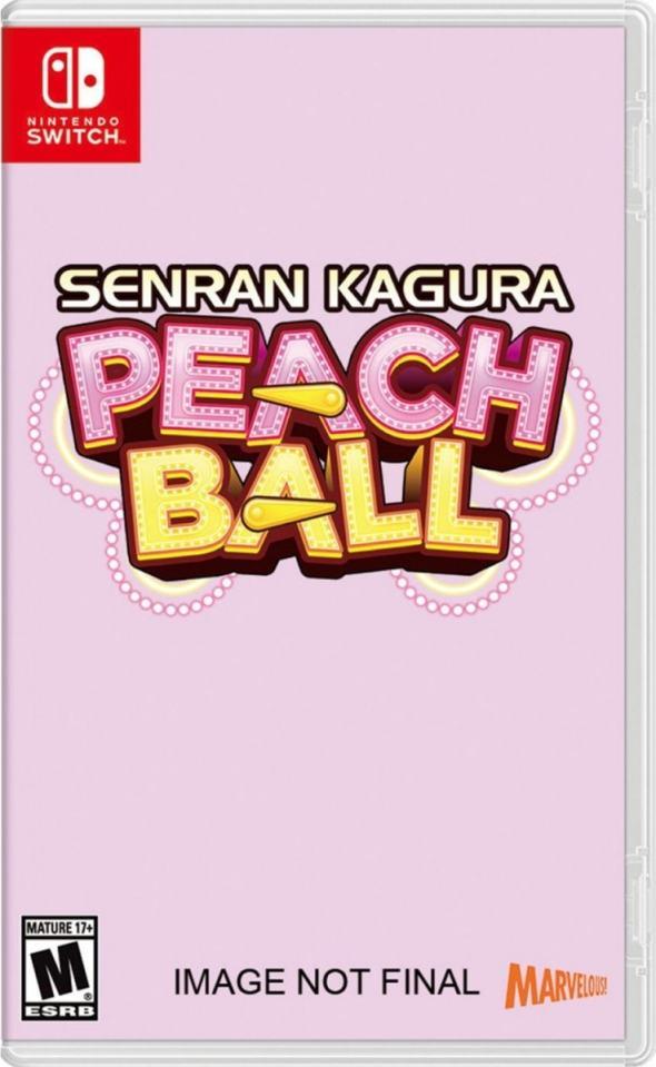 senran kagura peach ball retail nintendo switch cover limitedgamenews.com