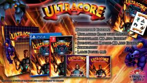 ultracore collectors edition strictly limited games retail nintendo switch ps4 cover limitedgamenews.com