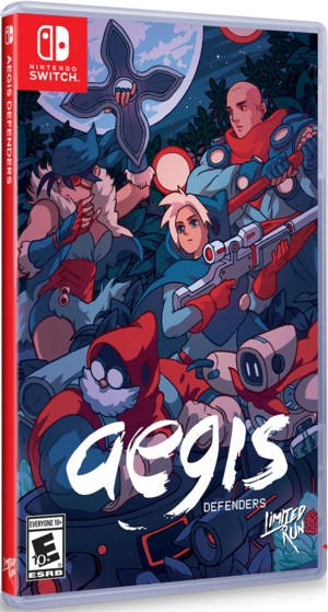 aegis defenders retail limited run games nintendo switch cover limitedgamenews.com