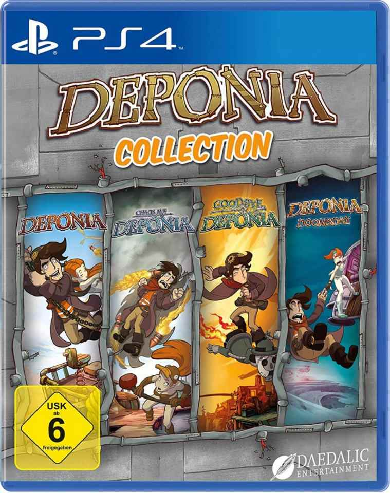 deponia collection daedalic retail ps4 cover limitedgamenews.com