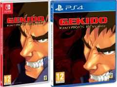 gekido kintaros revenge red art games retail nintendo switch ps4 cover limitedgamenews.com