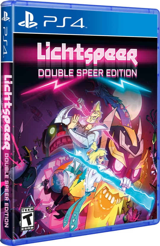 lichtspeer double speer edition hard copy games ps4-cover-limitedgamenews.com