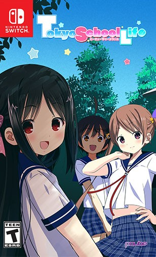 tokyo school life retail video games plus exclusive nintendo switch cover