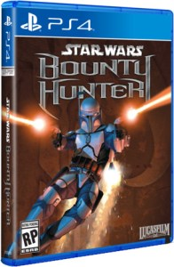 star wars bounty hunter retail limited run games ps4 cover limitedgamenews.com