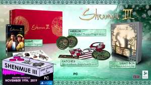 limited run games e3 2019 announcements 033 shenmue iii pc ps4 collectors edition limitedgamenews.com
