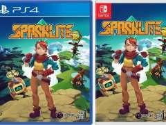 sparklite retail merge games ps4 nintendo switch cover limitedgamenews.com