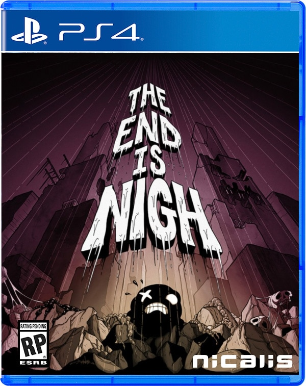 the end is nigh retail nicalis ps4 cover limitedgamenews.com