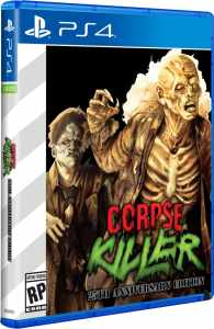 corpse killer standard edition retail limited run games ps4 cover limitedgamenews.com