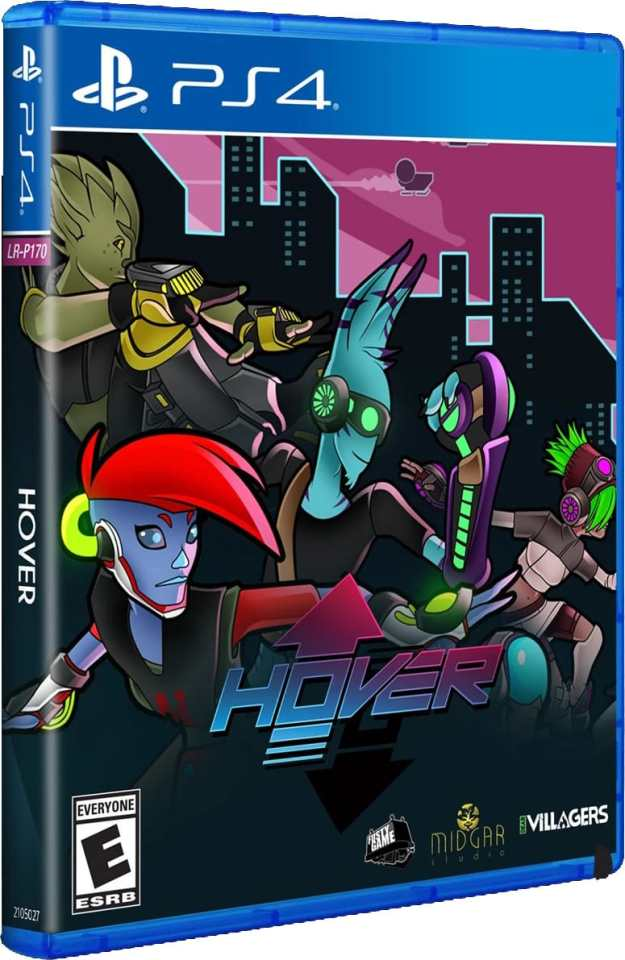 hover retail limited run games ps4 cover limitedgamenews.com