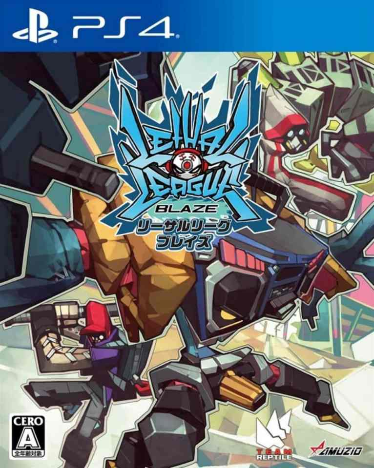 lethal league blaze asia multi-language retail ps4 cover limitedgamenews.com