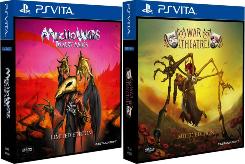 mecho wars desert ashes war theatre limited edition retail eastasiasoft ps vita cover limitedgamenews.com